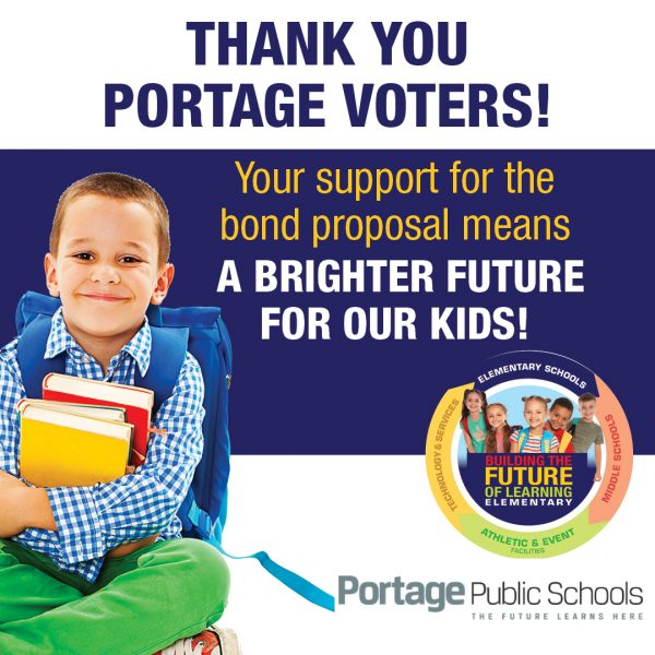 Thank you for Supporting the Bond Proposal