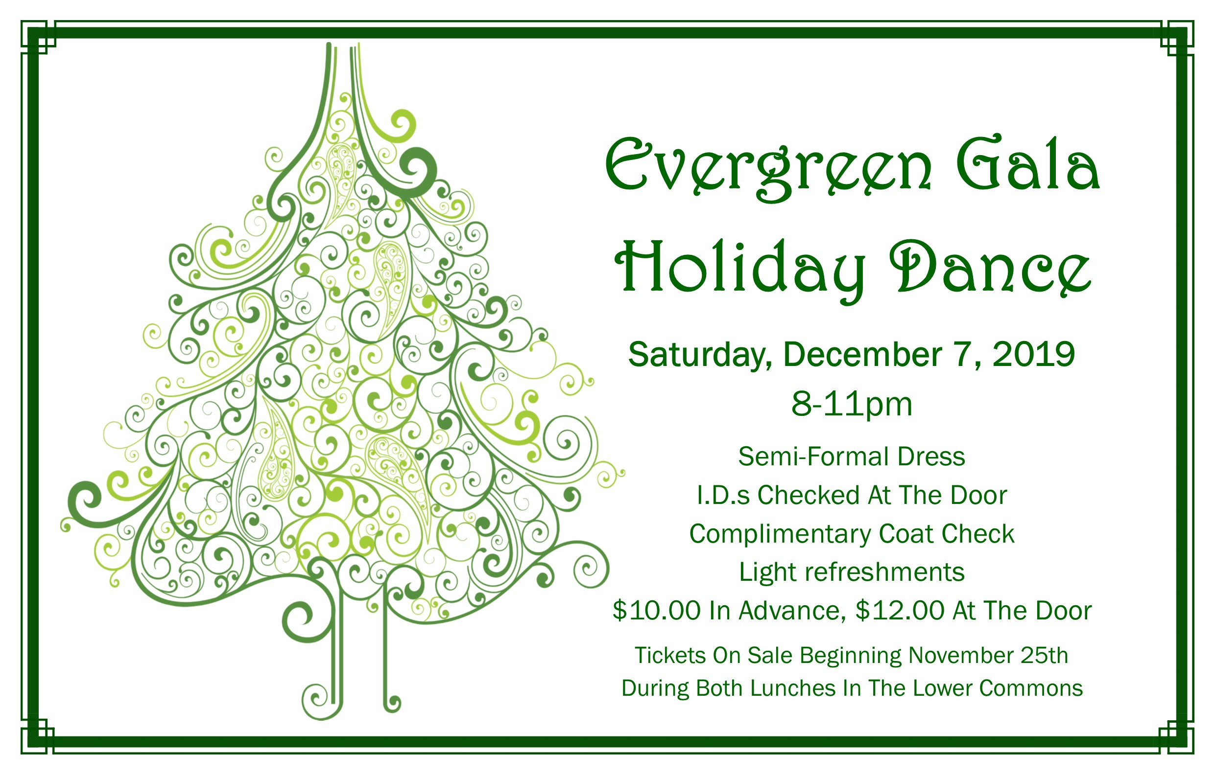holiday dance flyer