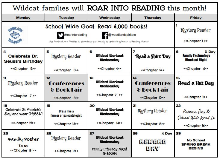 Click here for One School/One Book Calendar