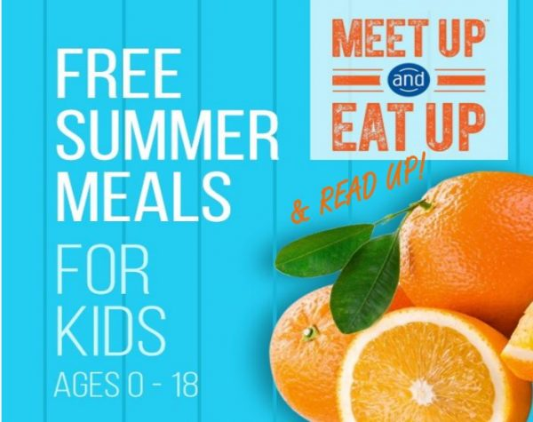 Free Summer Meals for Kids ages 0-18 - Meet up and Eat Up